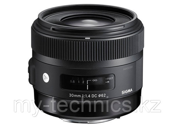 Объектив Sigma 30mm F/1.4 DC HSM Art для Canon