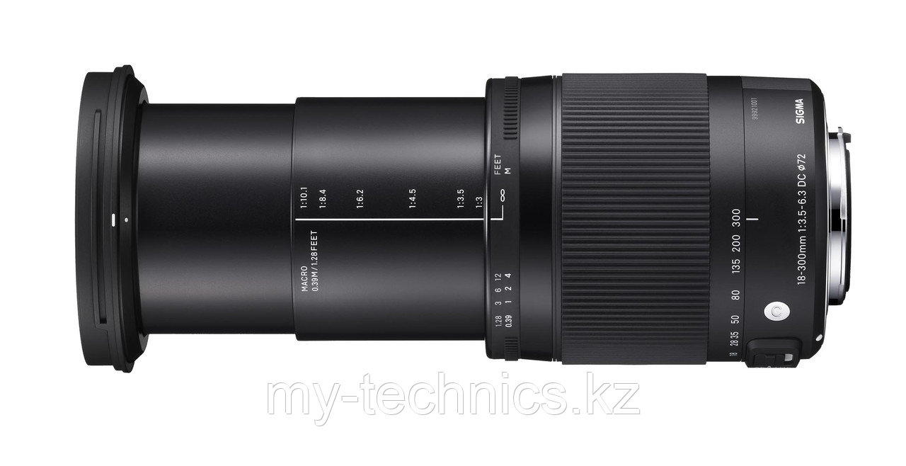 Объектив Sigma 18-300mm f/3.5-6.3 DC MACRO OS HSM Contemporary Canon