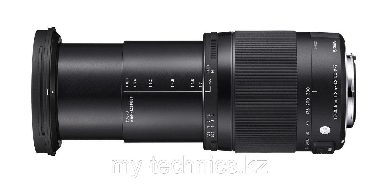 Sigma 18-300mm f/3.5-6.3 DC MACRO OS HSM Contemporary Canon