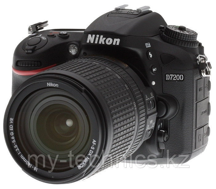Фотоаппарат Nikon D7200 kit 18-140mm f/3.5-5.6 G ED VR + Батарейный блок