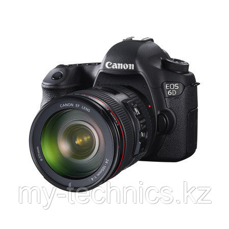 Фотоаппарат  Canon EOS 6D WG  Kit 24-105 F/4 L IS II USM  WI-FI + GPS + Батарейный блок