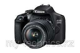 Фотоаппарат Canon EOS 2000D Kit 18-55 IS II 1 год гарантии