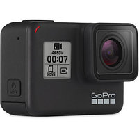 GoPro HERO7 Black + набор USB charger + 2 аккумулятора, фото 1