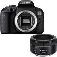 Фотоаппарат Canon 800D + объектив Canon 50mm f1.8 STM