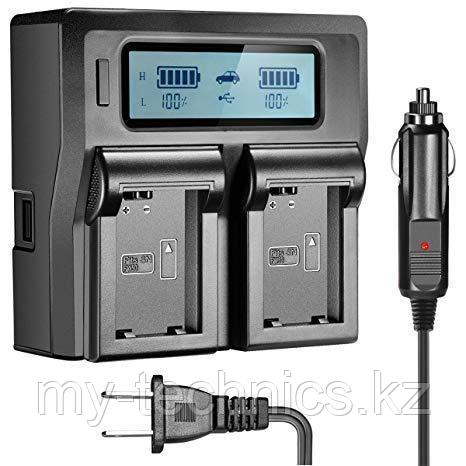 Зарядное устройство LCD DUAL BATTERY CHARGER for NP-F970