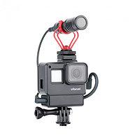 Рамка Vlogging Case V2 для GoPro HERO7,HERO6,HERO5 Black с отсеком для адаптера микрофона Ulanzi 1280