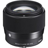 Объектив Sigma 56mm f/1.4 DC DN Contemporary for Sony E, фото 1