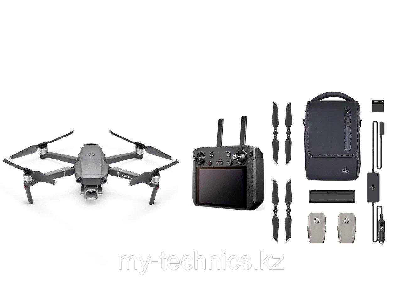 DJI Mavic 2 Pro с  Smart Controller (16GB EU) Fly More Kit