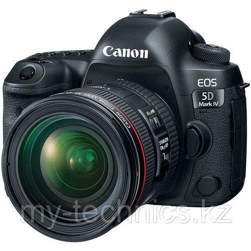 Фотоаппарат Canon 5D Mark IV kit 24-70mm f/2.8 L  USM II + Батарейный блок
