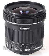 Объектив Canon EF-S 10-18mm f/4.5-5.6 IS STM гарантия 2 года