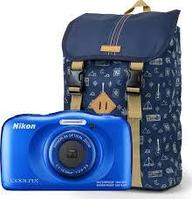 Nikon Coolpix W100 Blue + Рюкзак, фото 1