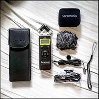 Рекордер Saramonic SR-Q2M  двухканальный (металлический корпус)