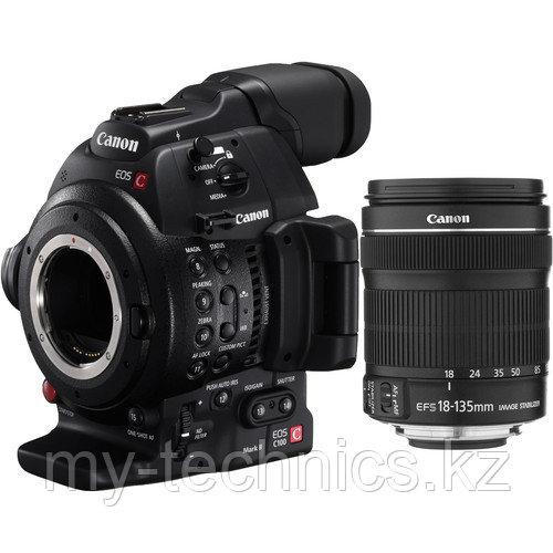 Фотоаппарат Canon EOS C100 Mark II Cinema EOS Camera  kit EF-S 18-135mm IS NANO