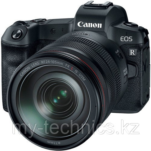 Canon EOS R kit RF 24-105mm f/4L IS USM + Mount Adapter EF-EOS R