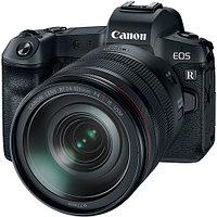 Canon EOS R kit RF 24-105mm f/4L IS USM + Mount Adapter EF-EOS R, фото 1