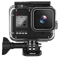 GoPro HERO 8 Black Edition (CHDHX-801-RW) + Аквабокс Ulanzi G8-1 (1735), фото 1