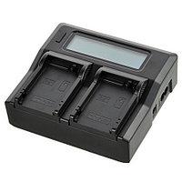 Двойное зарядное устройство для Panasonic BLF 19 (Двойная зарядка)