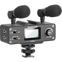 Микрофонный комплект Saramonic CaMixer (2 микрофона + цифровой микшер) для DSLR и видеокамер, фото 1