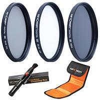K&F Набор фильтров 77 мм (UV, CPL, ND4)  SKU0014