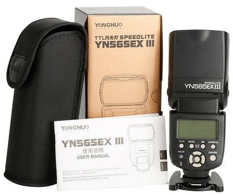YN SPEDLITE -565EX III для Nikon от Yongnuo для YN600EX-RT YN568EX III,Nikon SB-910, 900., фото 2