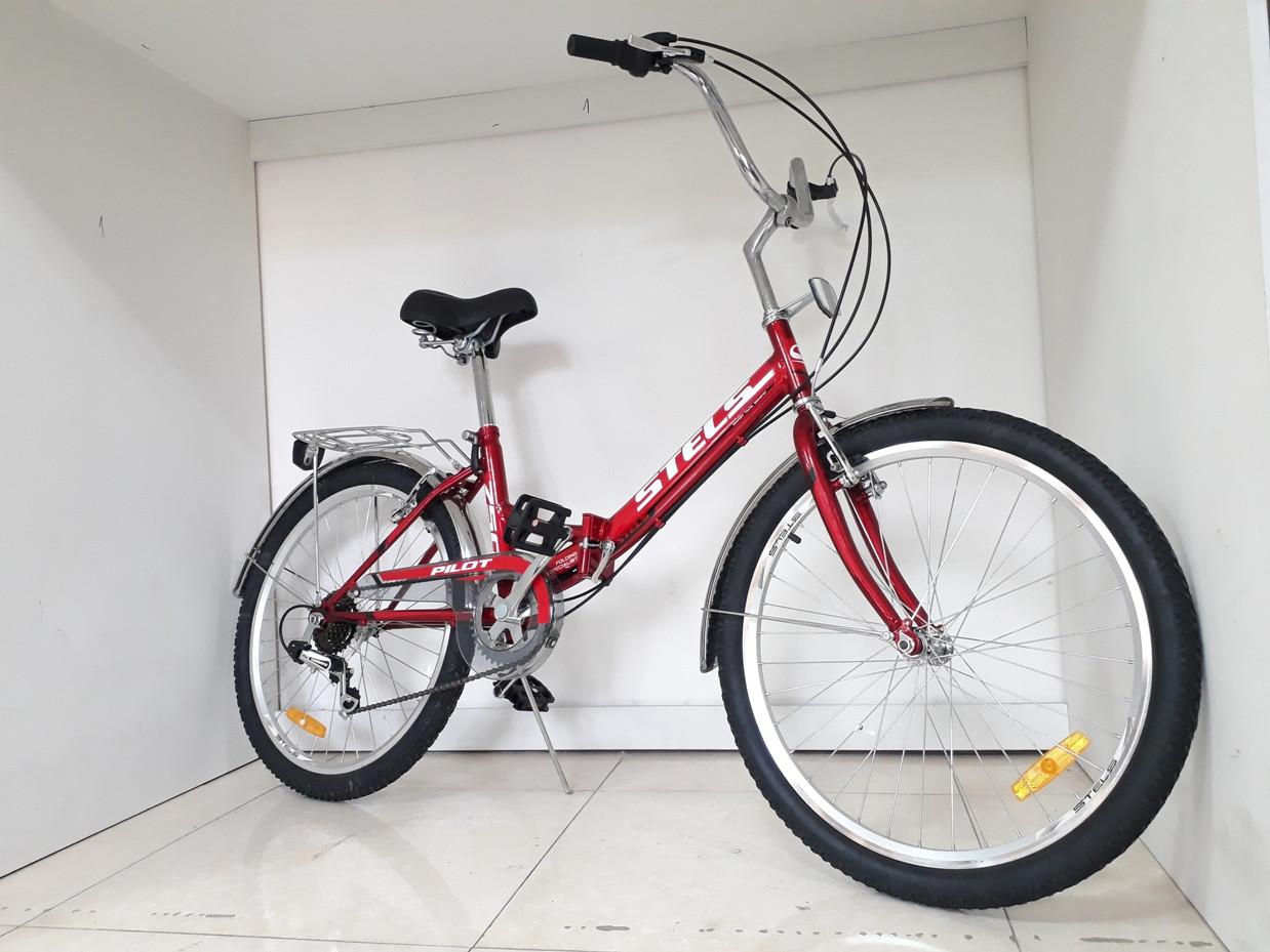 Складной велосипед Stels Pilot 750 24 колеса со скоростями