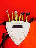Аппарат косметологический 4 в 1: гальваника, электропорация, РФ лифтинг, холодный молоточек, фото 1