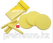 Губка целлюлоза для снятия макияжа, умывания 12шт/уп