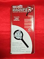 Лупа ручная с LED подсветкой MAGNIFIER 3Х, фото 1