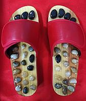 Массажные тапочки с натуральными камнями, фото 1