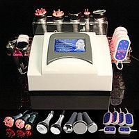 Аппарат Slim-6 7в1 Кавитация, рф лифтинг, лазерный липолиз, вакуумный массаж