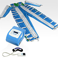Аппарат прессотерапии с ИК-прогревом, с костюмом и массажными очками MX-P18a, фото 1