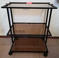 Столик инструментальный, Помощник средний черный, фото 1