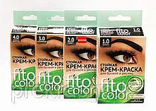 Стойкая крем-краска для бровей и ресниц Fito color в ассортименте