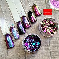 Дизайн для ногтей Хлопья Юки Boya
