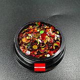 Камифубики для ногтей Галактика 1гр Boya, фото 3