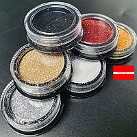 Набор дизайна для ногтей Радужный песок А Boya, фото 1