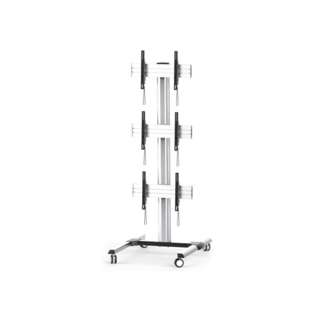 Кронштейн для видеостен, Brateck, LVS01-346FW, Макс. нагрузка - 50 кг (каждая),  Высота 2247 мм., Уг
