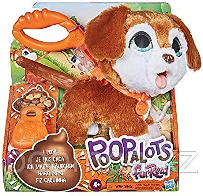 Интерактивная игрушка какающая собака на поводке Hasbro FurReal Poopalots - фото 1