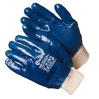 Перчатки маслобензостойкие нитриловые с манжетом-резинка, Gward NRP