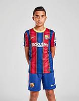 Клубная детская форма Барселона домашняя сезона 2020/21