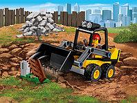 LEGO City 60219 Строительный погрузчик, конструктор ЛЕГО