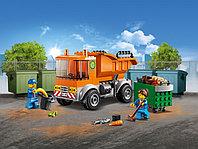 LEGO City 60220 Мусоровоз, конструктор ЛЕГО