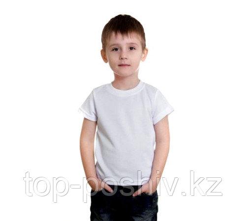 "Футболка детская, для сублимации Прима-Cool and Dry ""Fashion kid"" цвет: белый, размер: 24(98)"