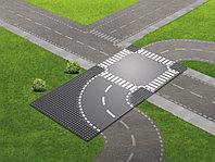 LEGO City 60237 Поворот и перекресток, конструктор ЛЕГО
