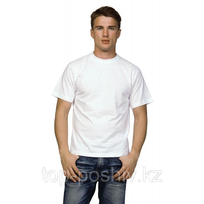 "Футболка для сублимации Прима-Софт микрофибра ""Unisex"" цвет: белый, размер 48(M)"