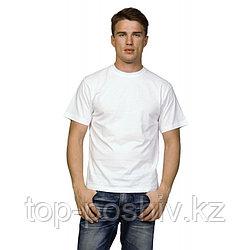 "Футболка для сублимации Прима-Софт микрофибра ""Unisex"" цвет: белый, размер 54(2XL)"