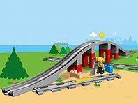 LEGO DUPLO 10872 Железнодорожный мост, конструктор ЛЕГО