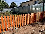 Забор деревянный, фото 3