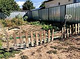 Забор деревянный, фото 4