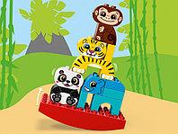 LEGO DUPLO 10884 Мои первые цирковые животные, конструктор ЛЕГО